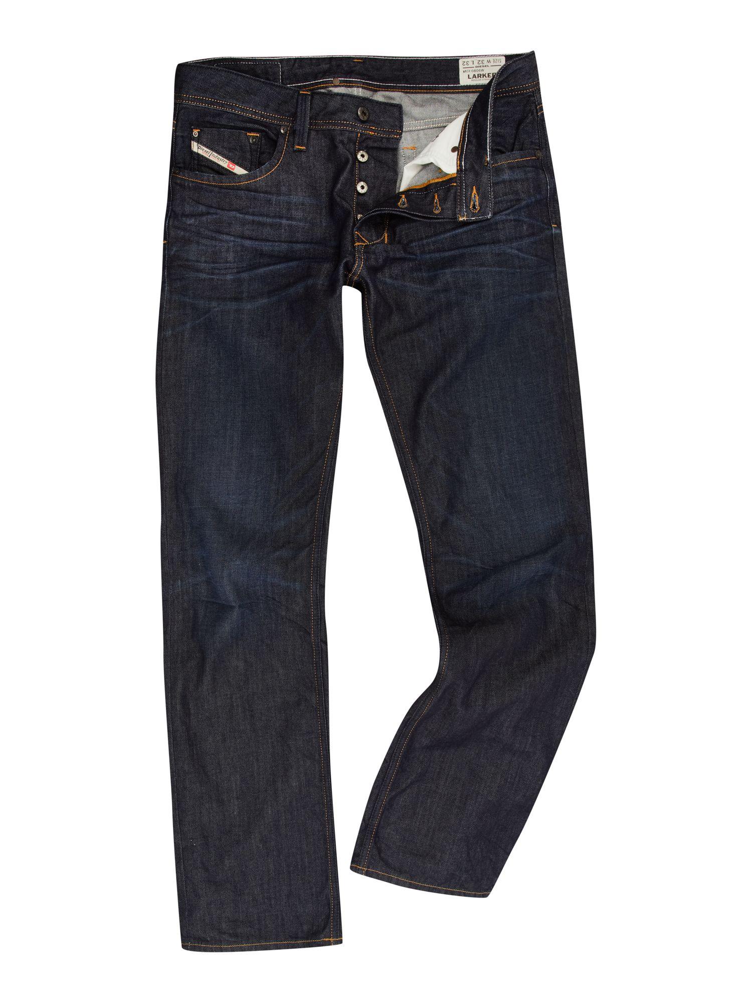 Diesel Larkee 806w Straight Fit Jeans in Blue for Men (denim)   Lyst