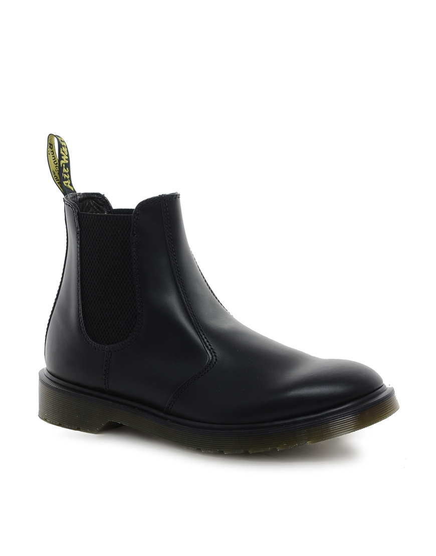 dr martens original chelsea boots in black for men lyst. Black Bedroom Furniture Sets. Home Design Ideas