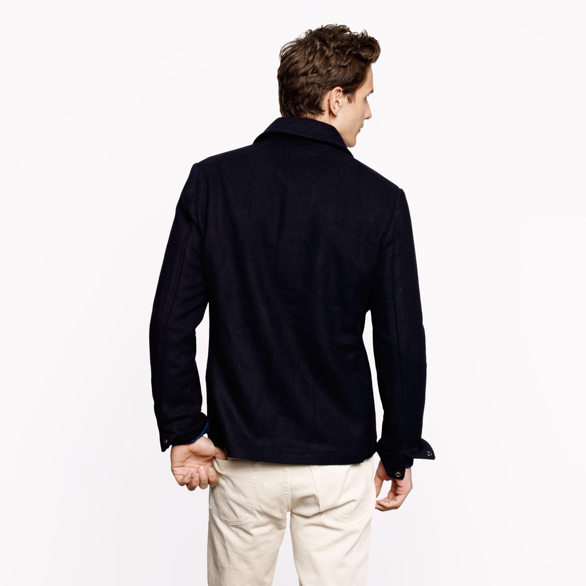 Lyst - J.Crew Wallace Barnes Skiff Jacket in Blue for Men