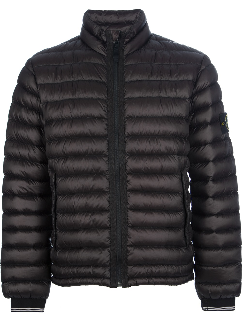 Lyst Stone Island Dyed Down Padded Jacket In Black For Men