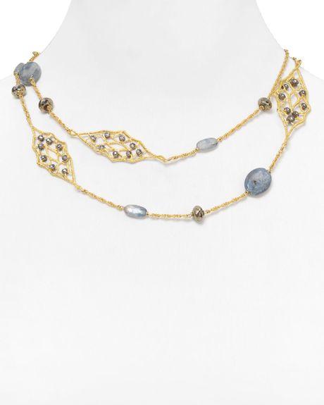 Alexis bittar jardin de papillon small lace kynite for Jardin necklace