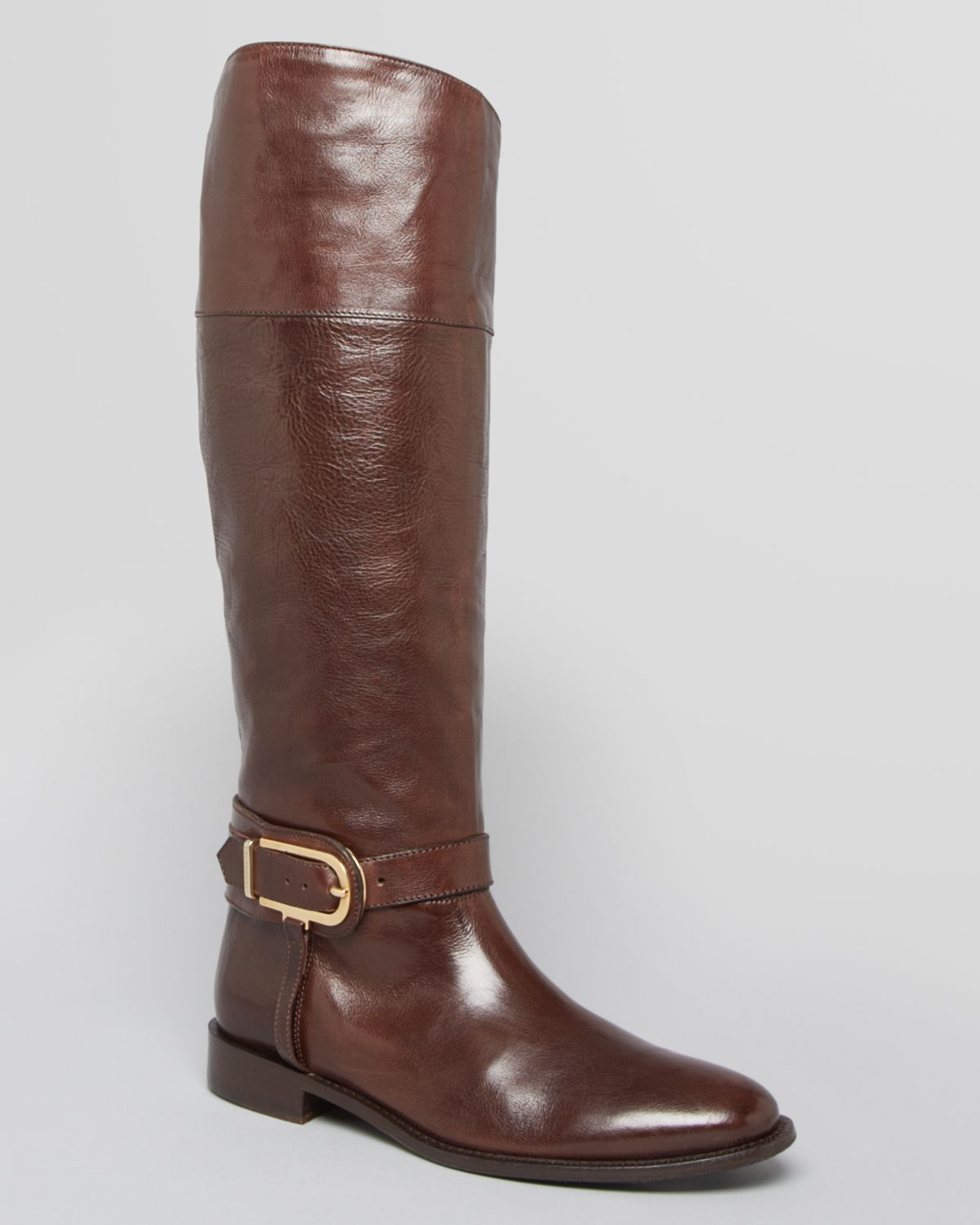 burberry boots winton in brown chocolate lyst