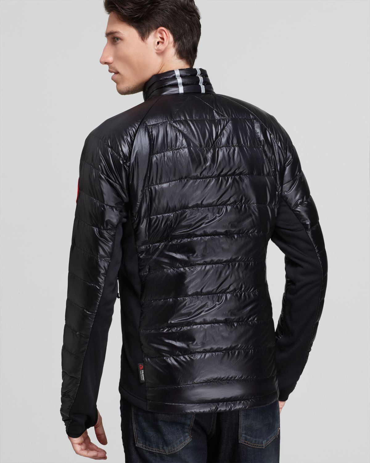canada goose hybridge lite quilted down jacket