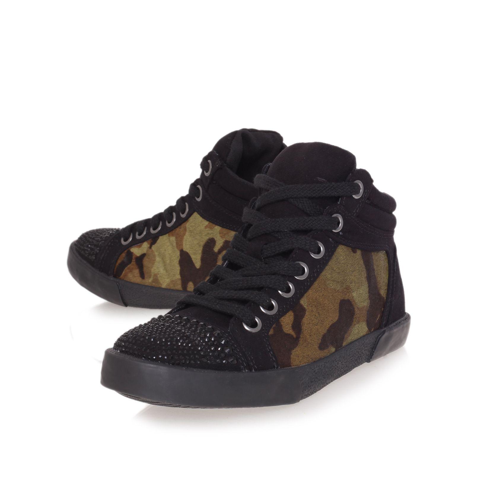Carvela Kurt Geiger Laugh Trainer Shoes In Black For Men | Lyst