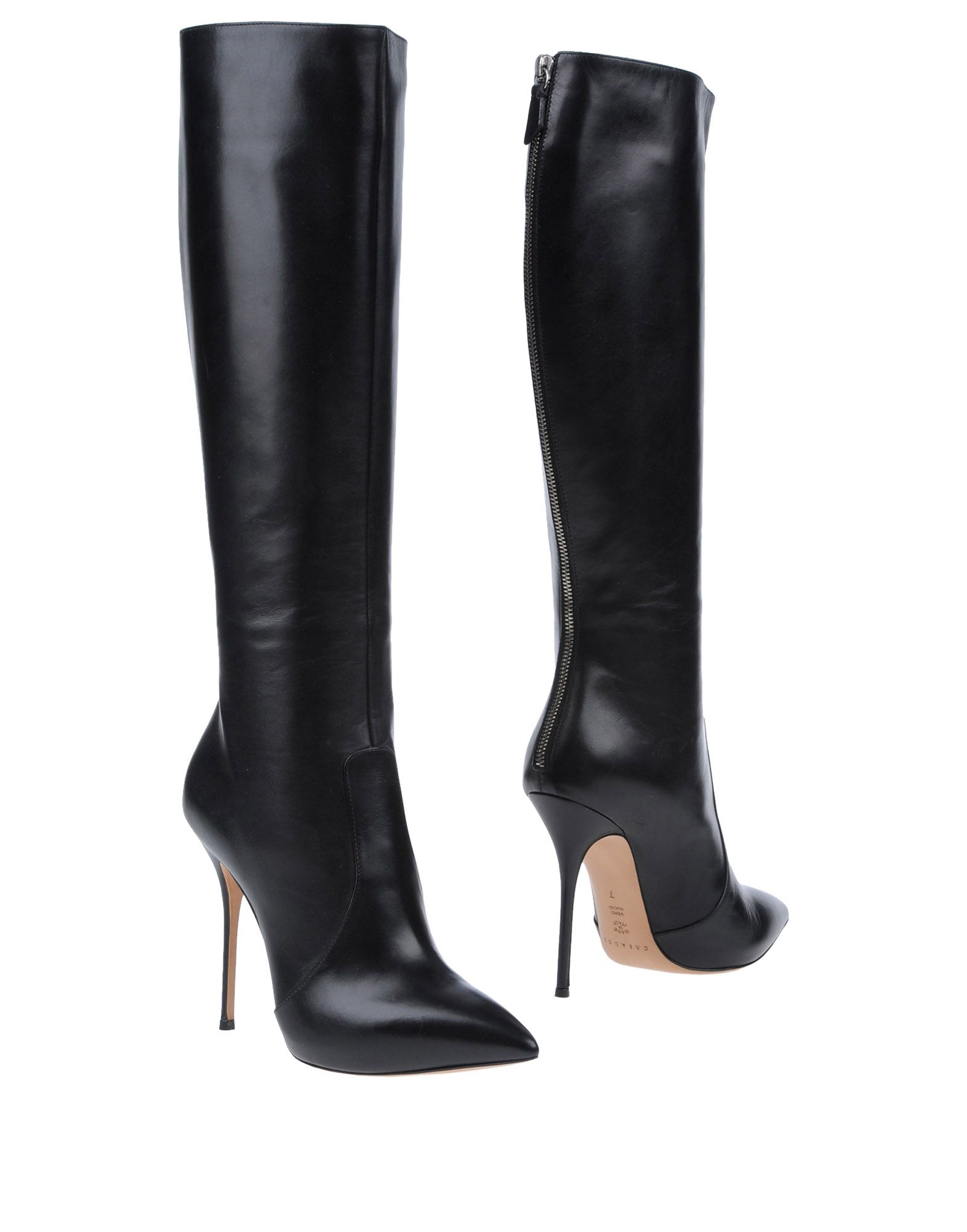 casadei boots in black lyst