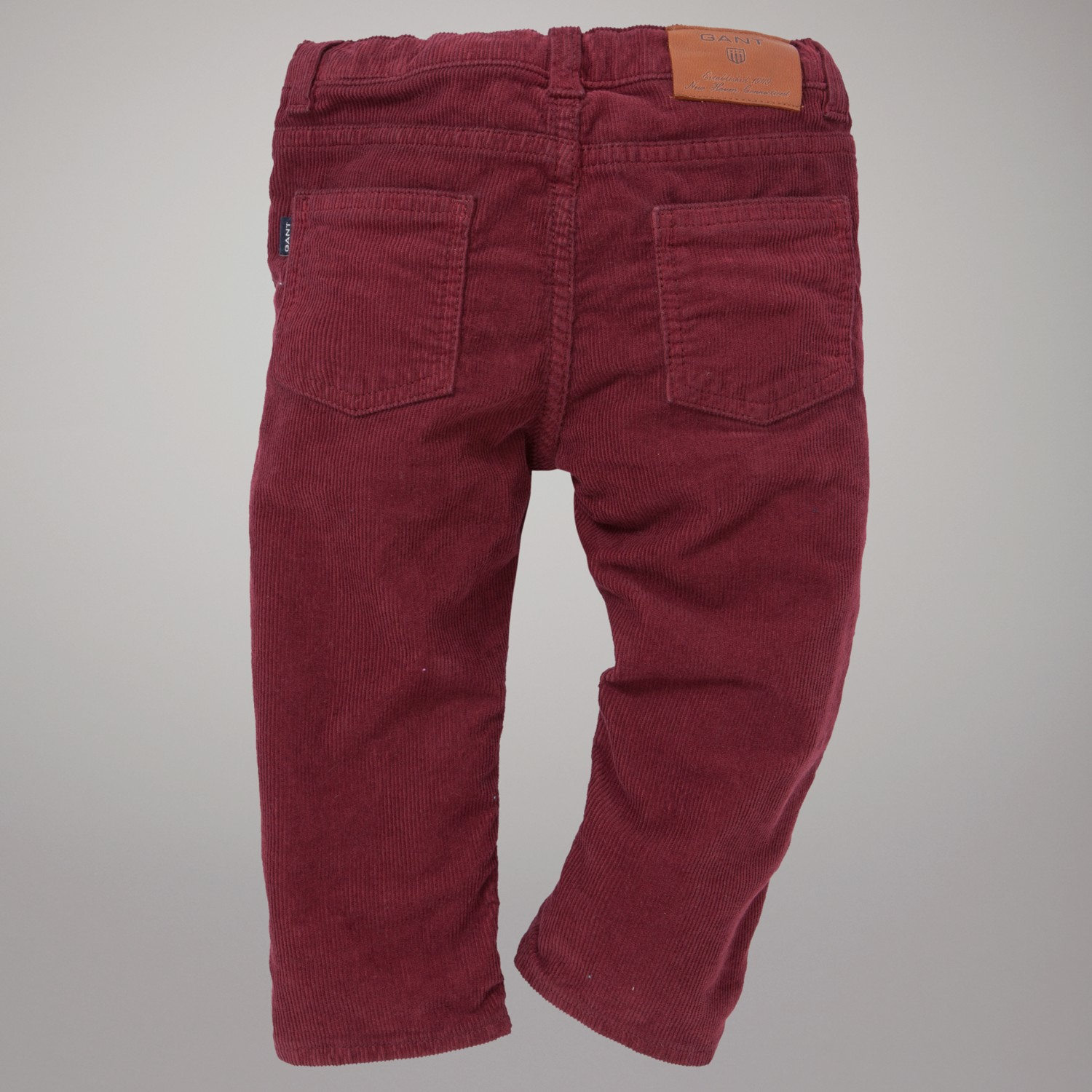 GANT Corduroy Trousers in Burgundy (Red) for Men