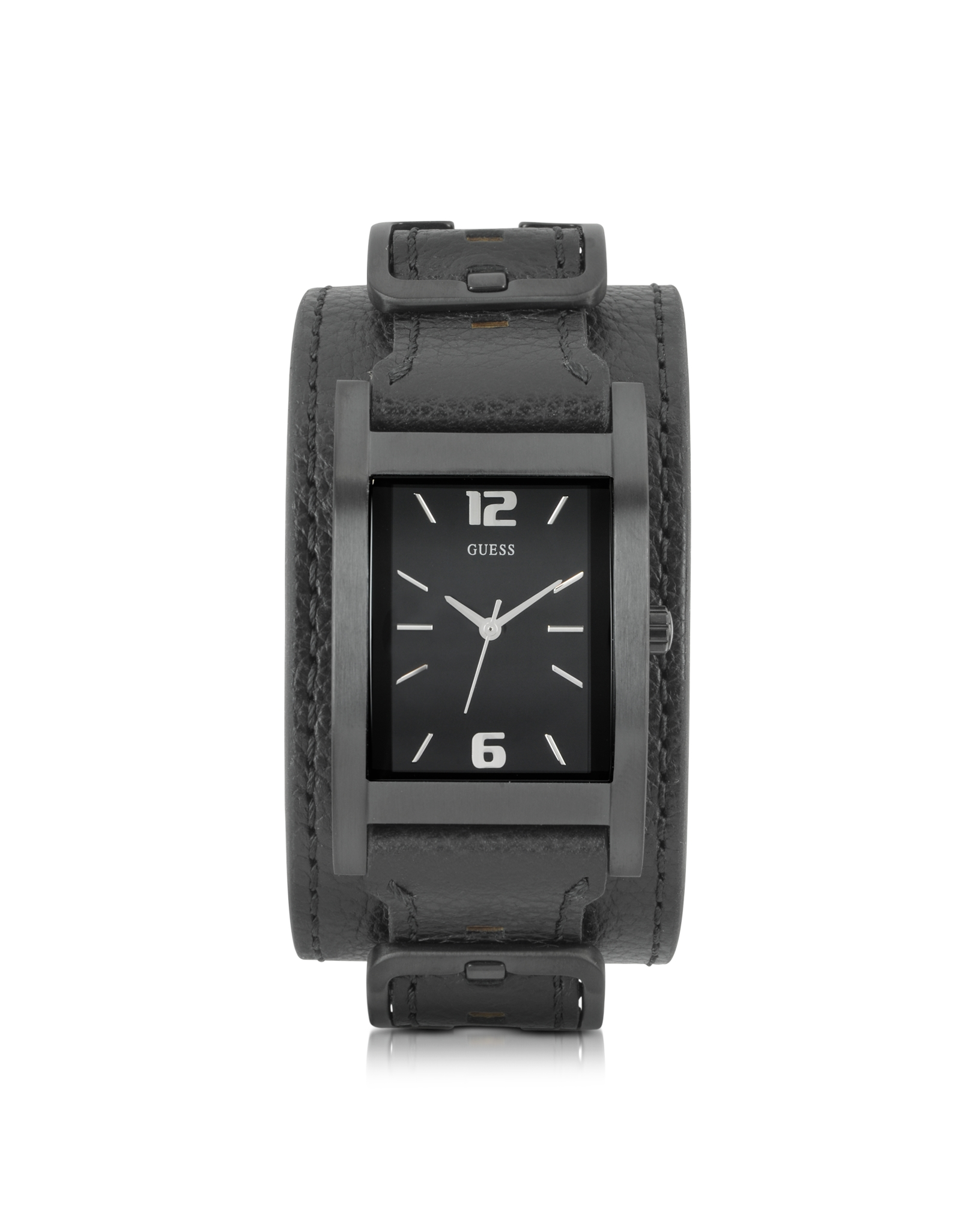 guess mens stainless steel watch interchangeable bands in gallery