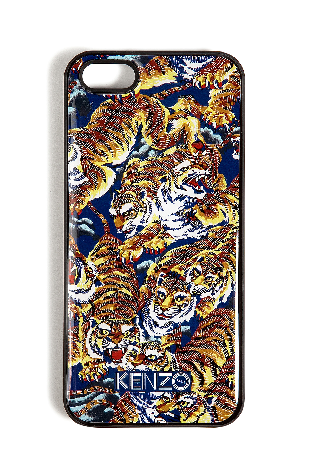 Lyst Kenzo Tiger Print Iphone 5 Case In Brown