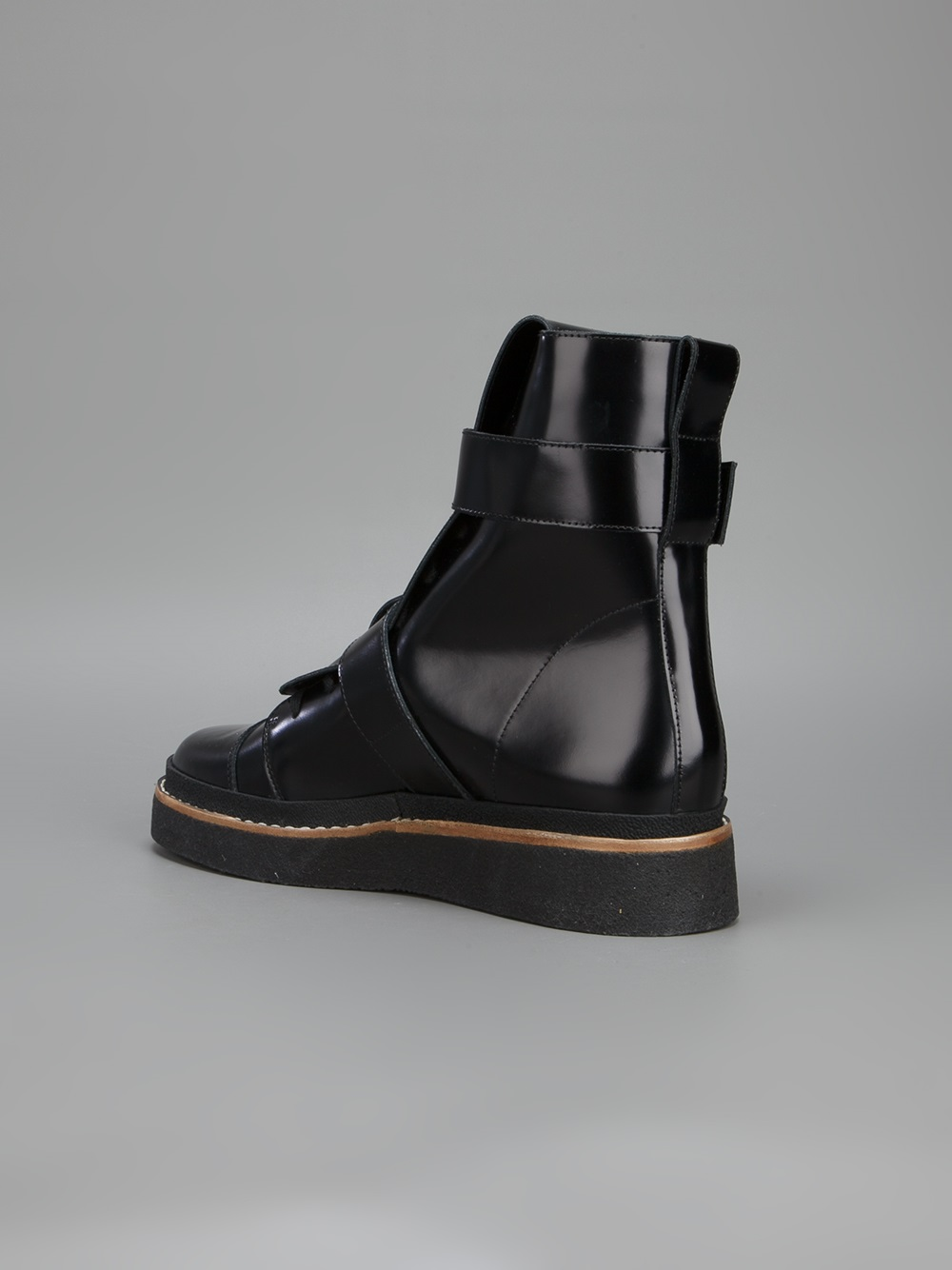 Marni Leather Buckled Boots FqTWqjnHq