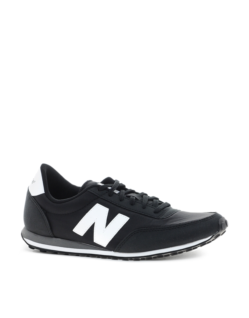 new balance 410 trainers in gray for men grey lyst. Black Bedroom Furniture Sets. Home Design Ideas