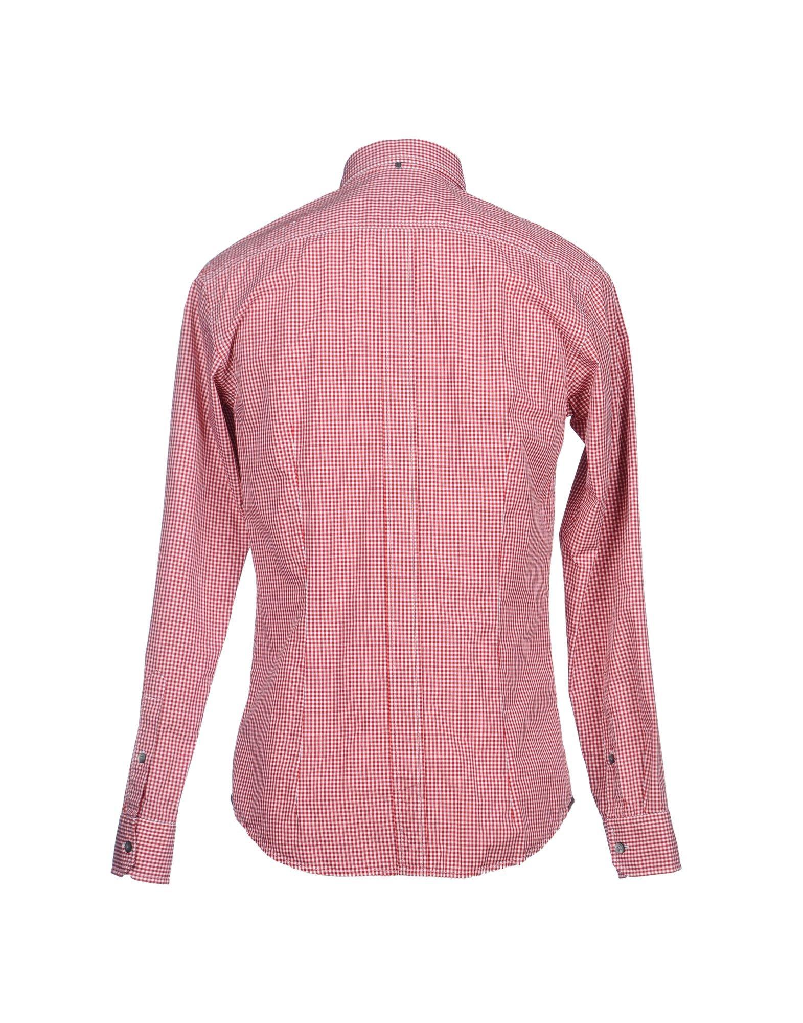 Zegna sport Long Sleeve Shirt in Red for Men