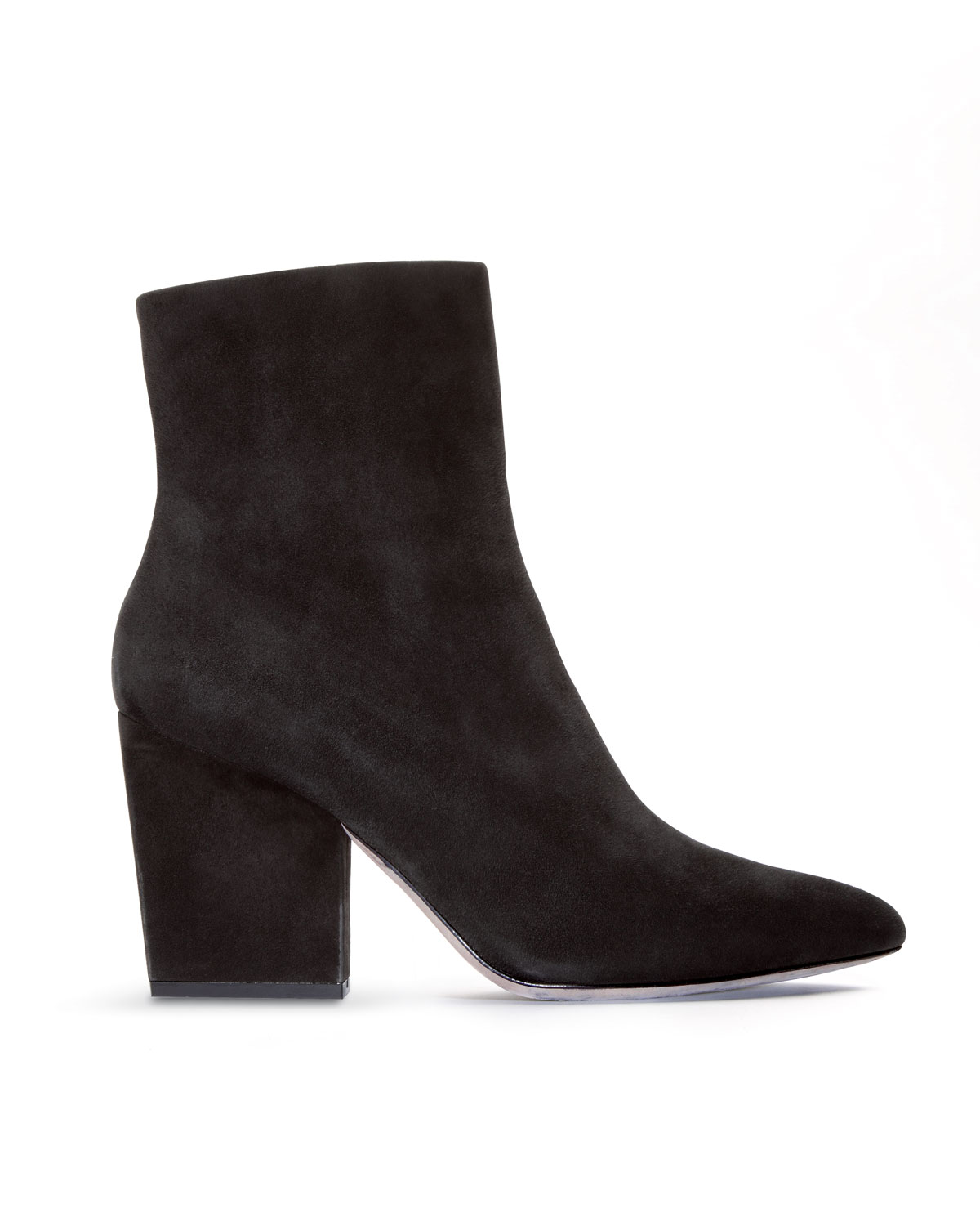 21d8e753c9b0 Lyst - Alexander Wang Sunniva Suede Pointed toe Bootie in Black