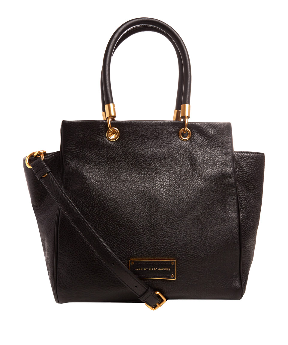 Marc By Marc Jacobs Black Too Hot To Handle Bentley Tote