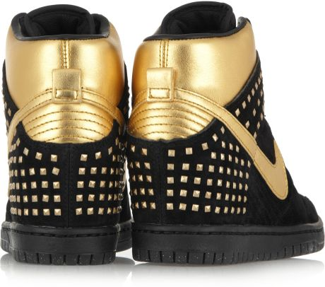 Nike Dunk Sky hi Wedge Sneaker Black Black Nike Dunk Sky hi