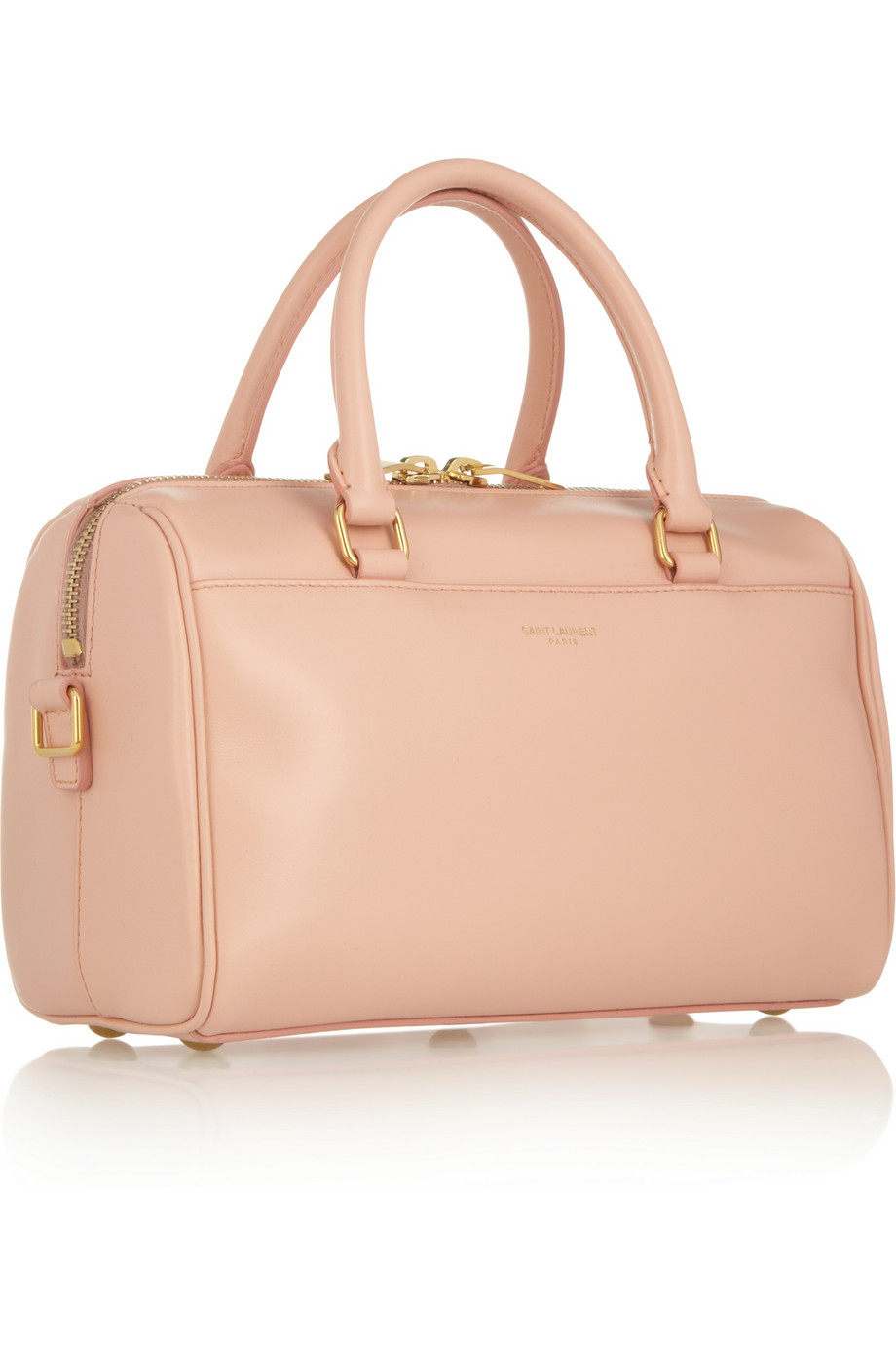 Lyst - Saint Laurent Classic Duffle 3 Leather Bag in Pink e139326317263