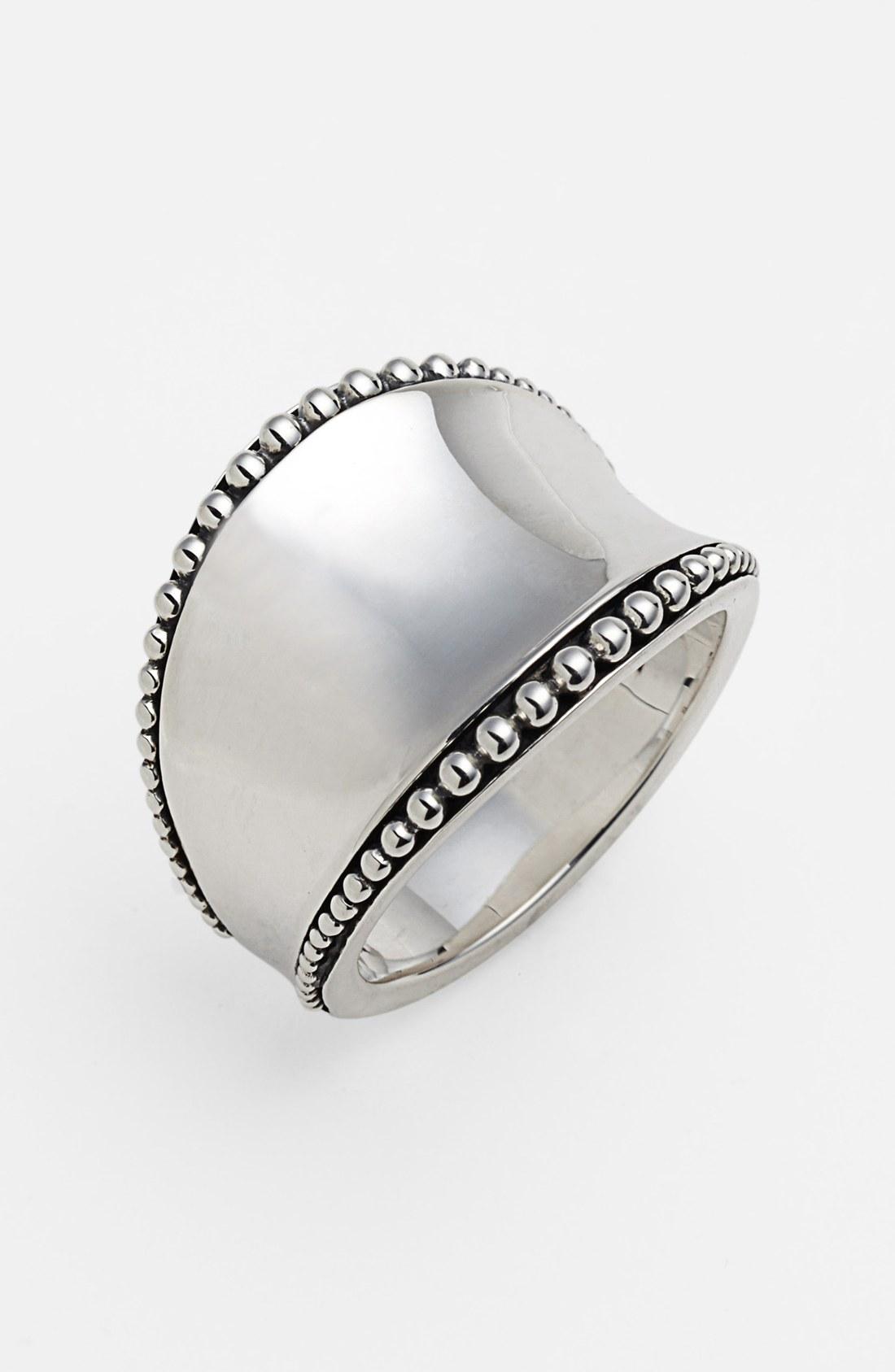 Lyst Lagos Imagine Ring In Metallic