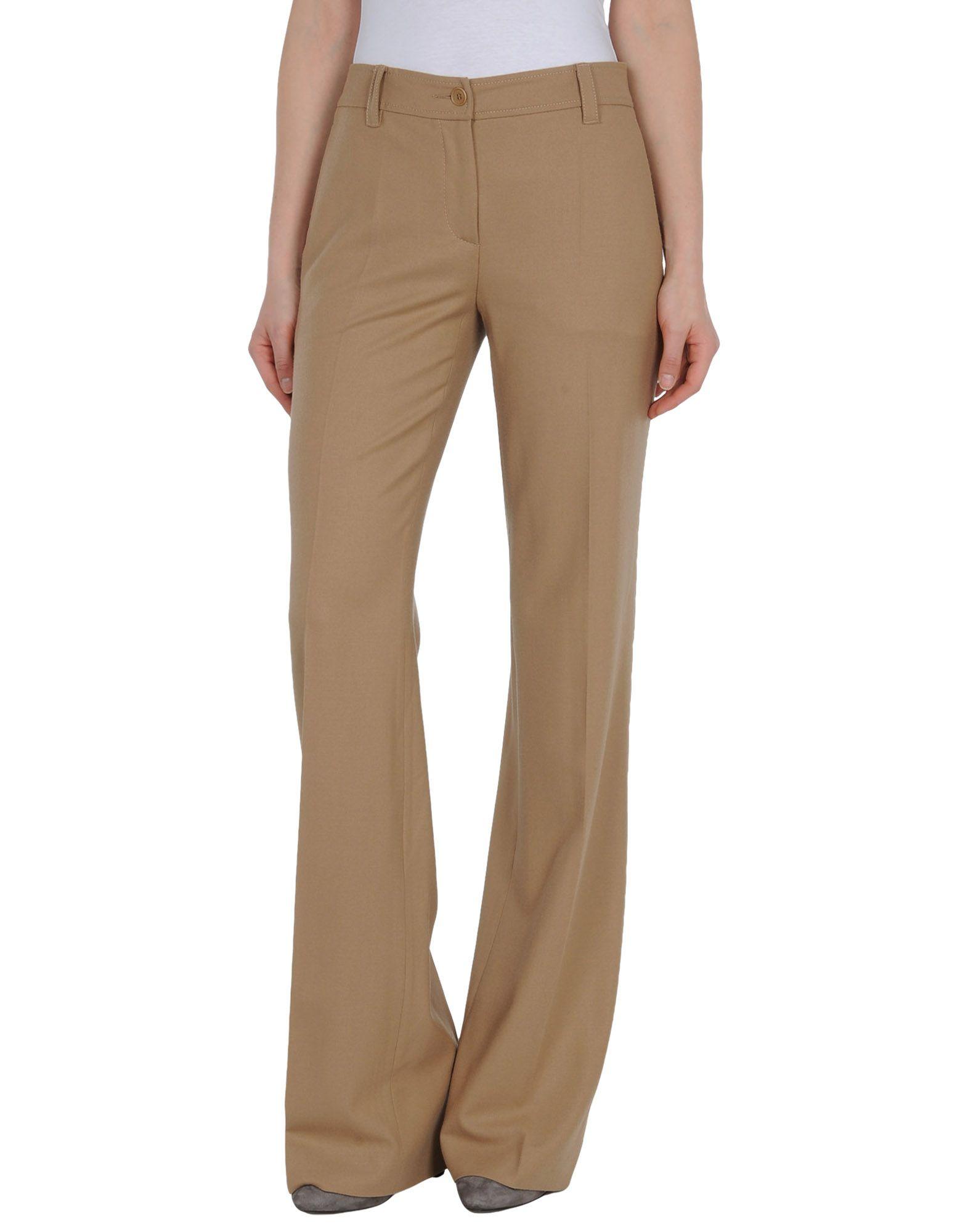 Alberta Ferretti Formal Trouser In Beige (Camel) | Lyst