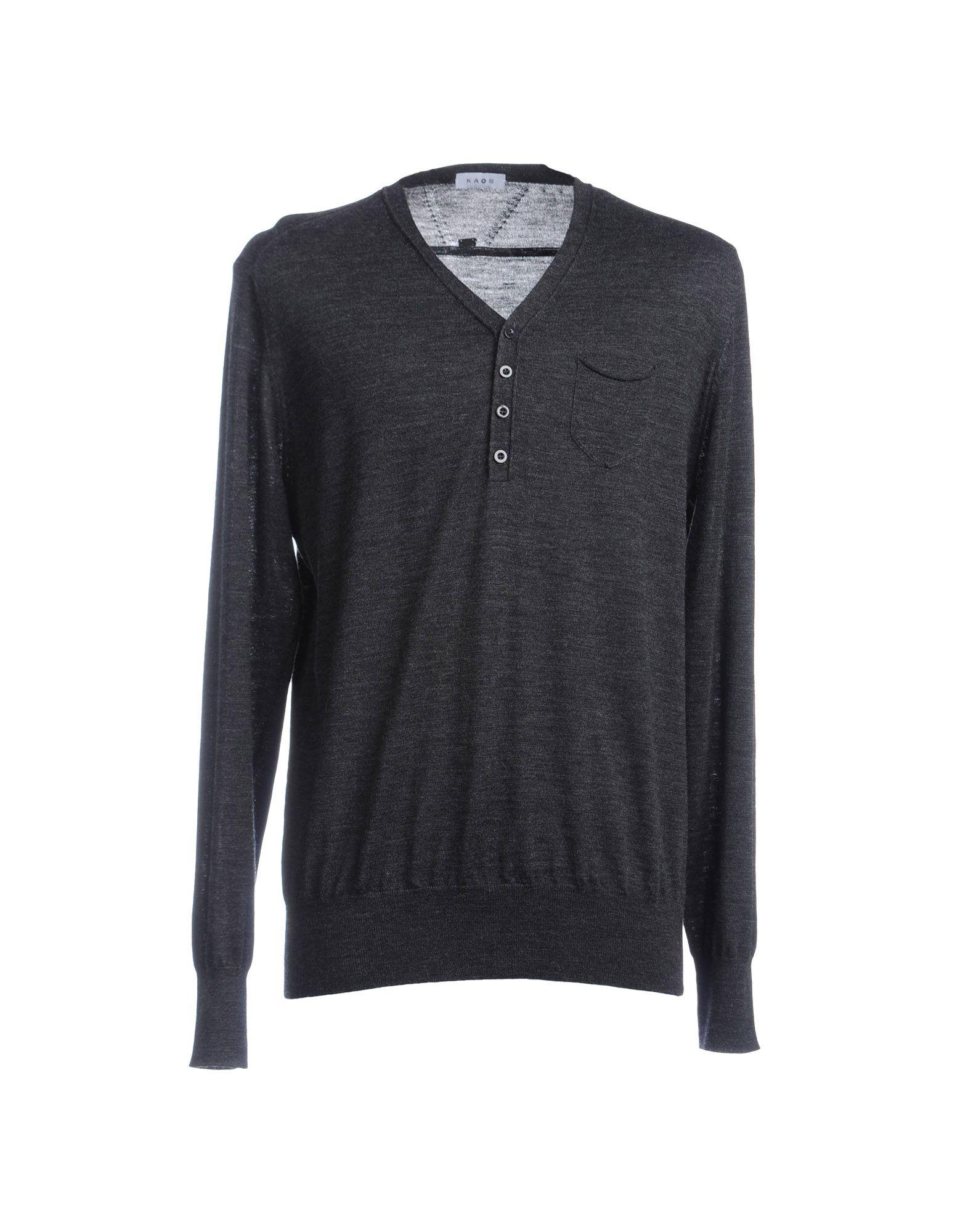 Kaos V-neck in Gray for Men (Steel grey)   Lyst