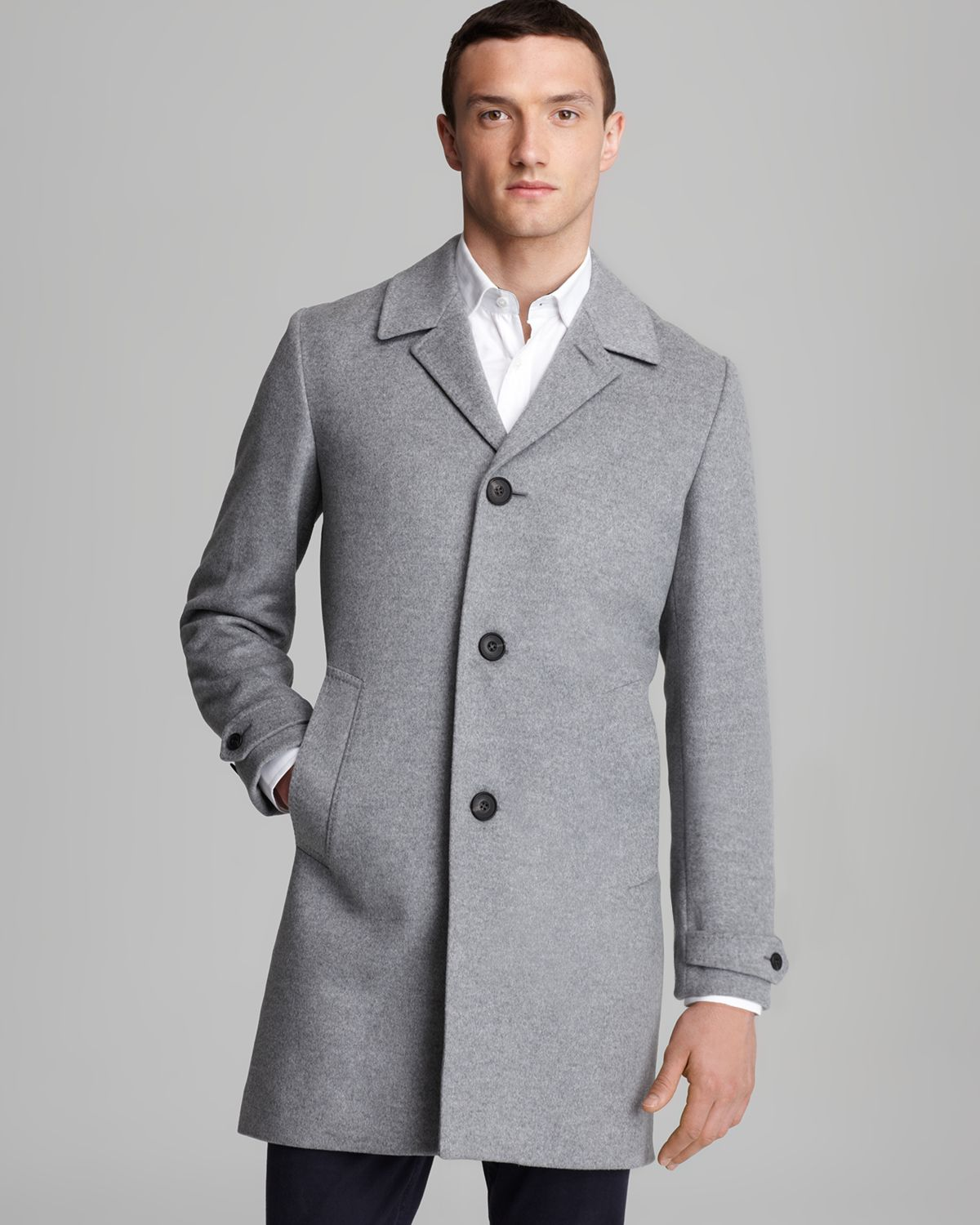 11a9dbcc7dd Gallery. Previously sold at  Bloomingdale's · Men's Cashmere Coats ...