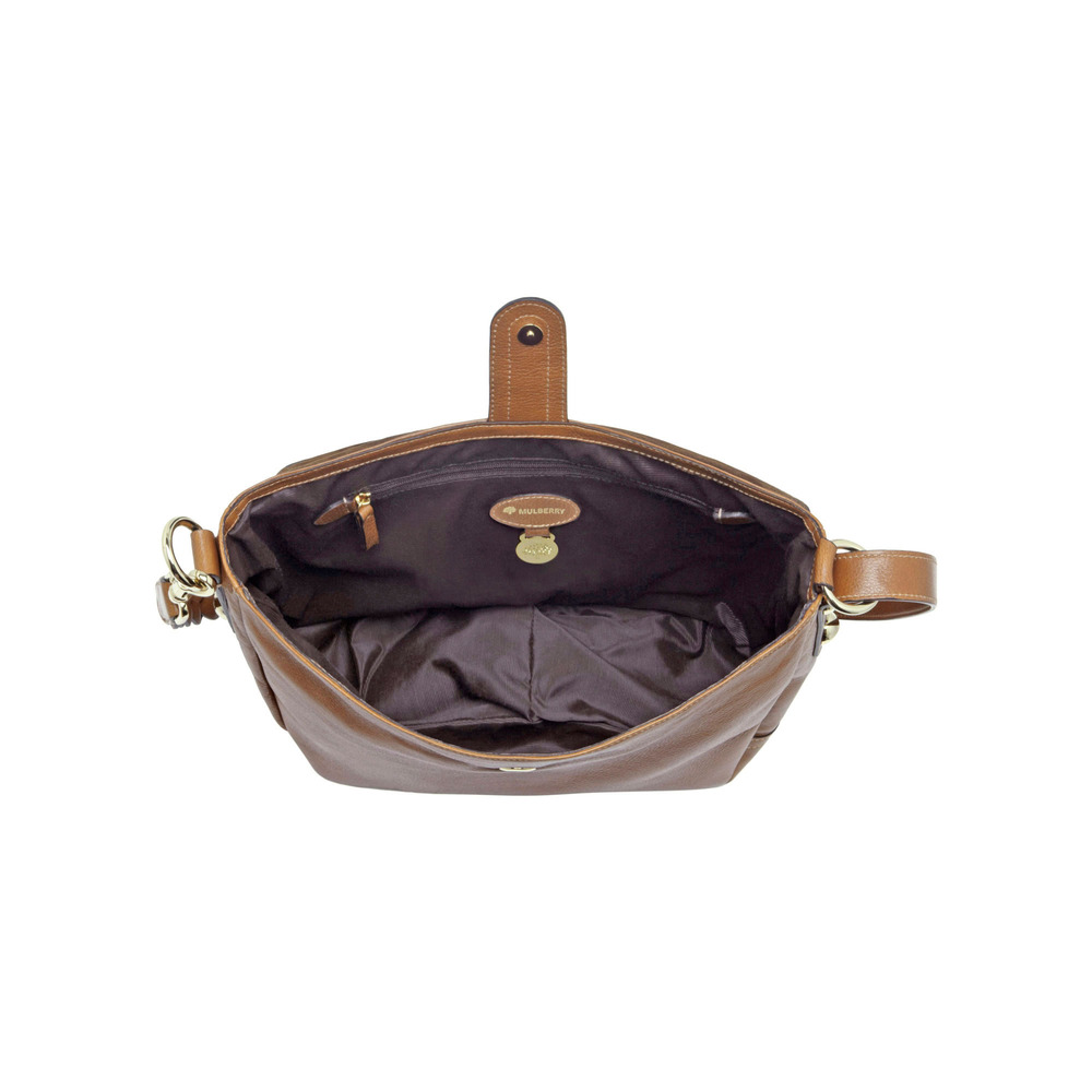 Mulberry Daria Satchel in Brown - Lyst 0b703461c2d6b