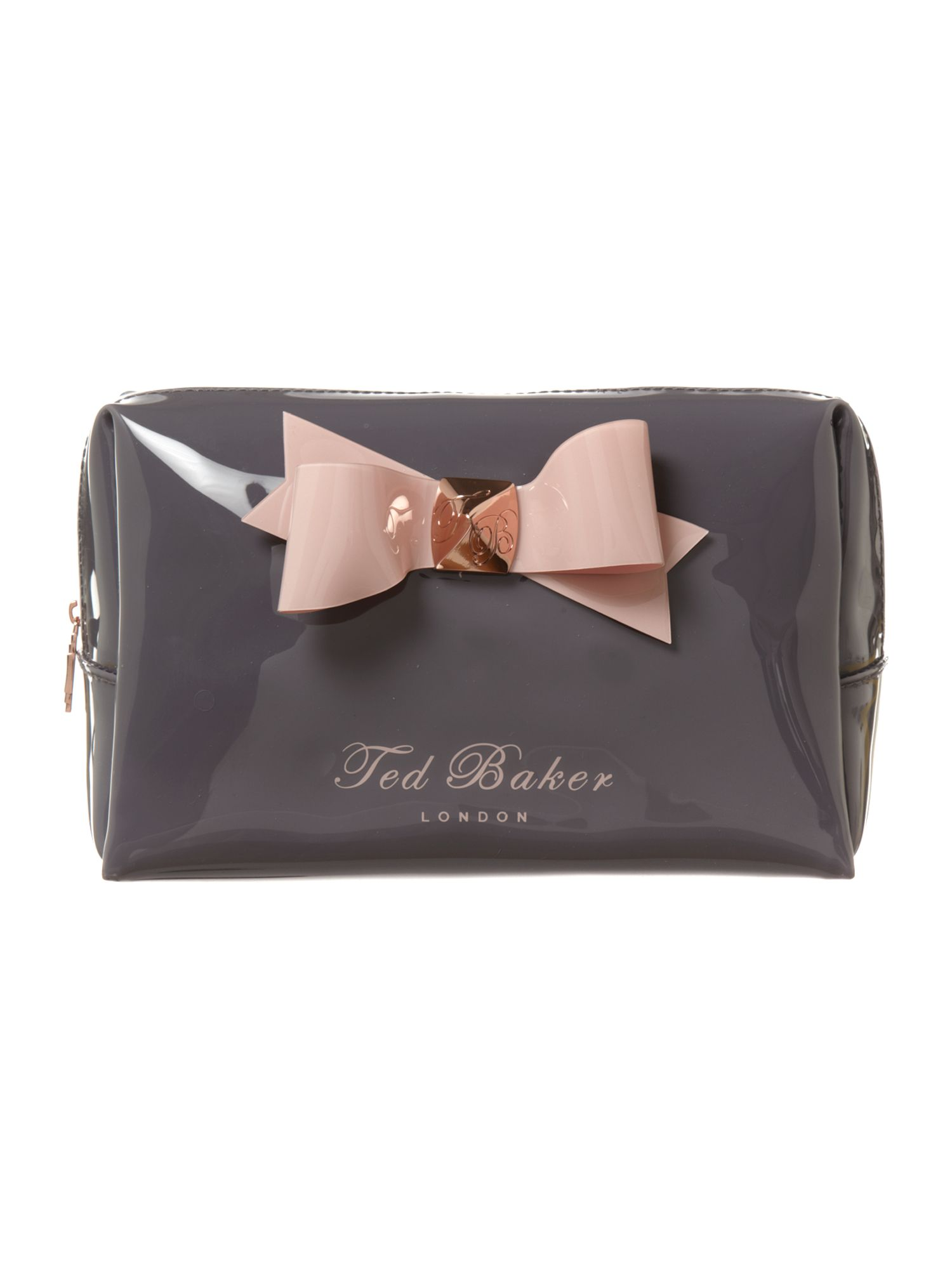 ted baker leda large cosmetic bag in gray lyst