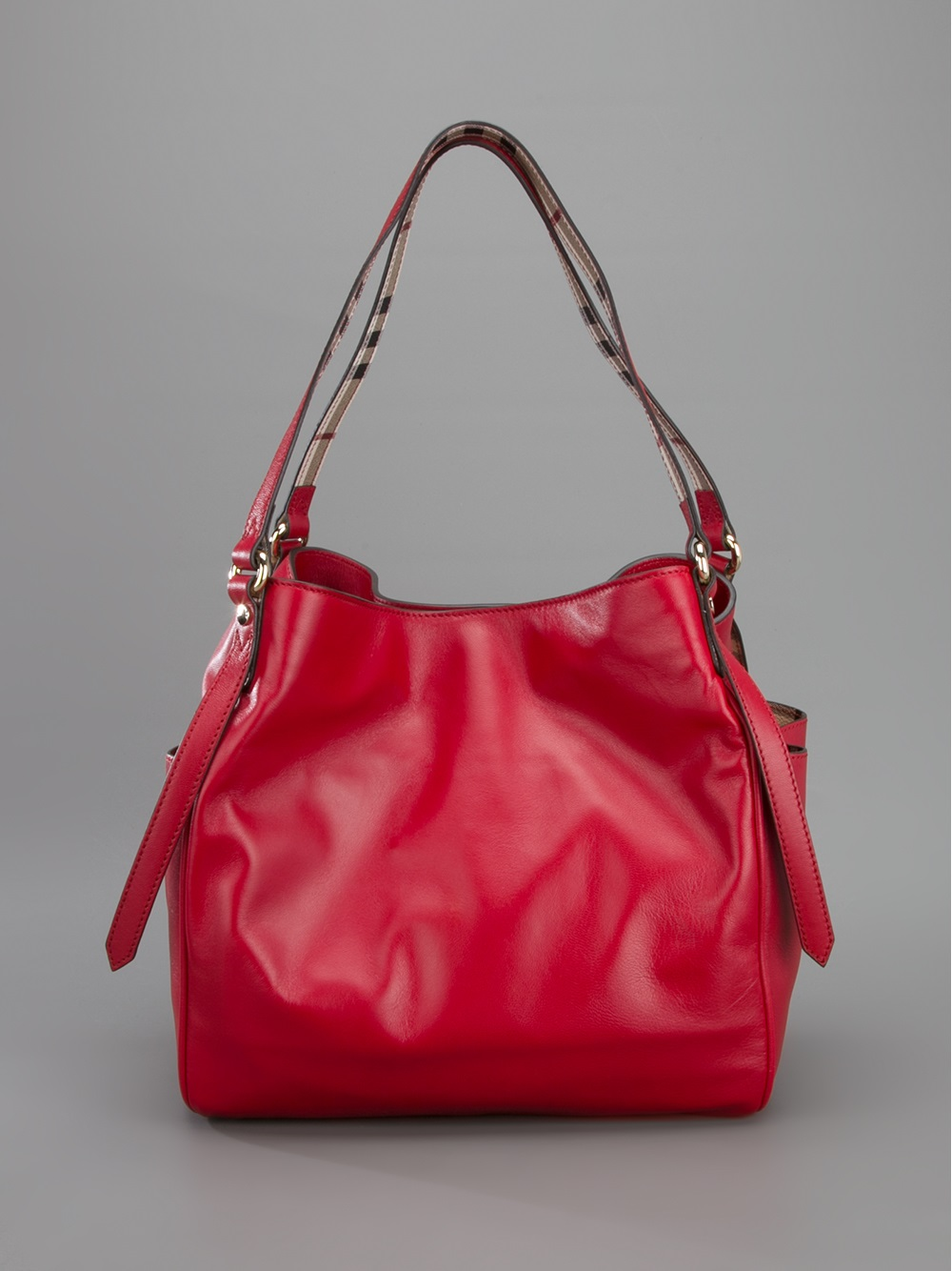 Burberry Canterbury Tote in Red