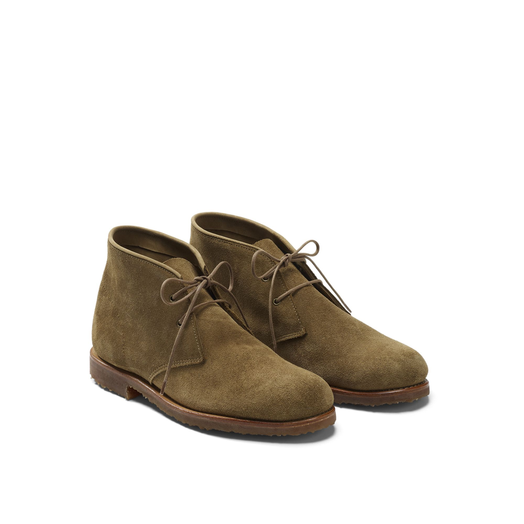 Club Monaco Rancourt Chukka Boot In Brown For Men Brown