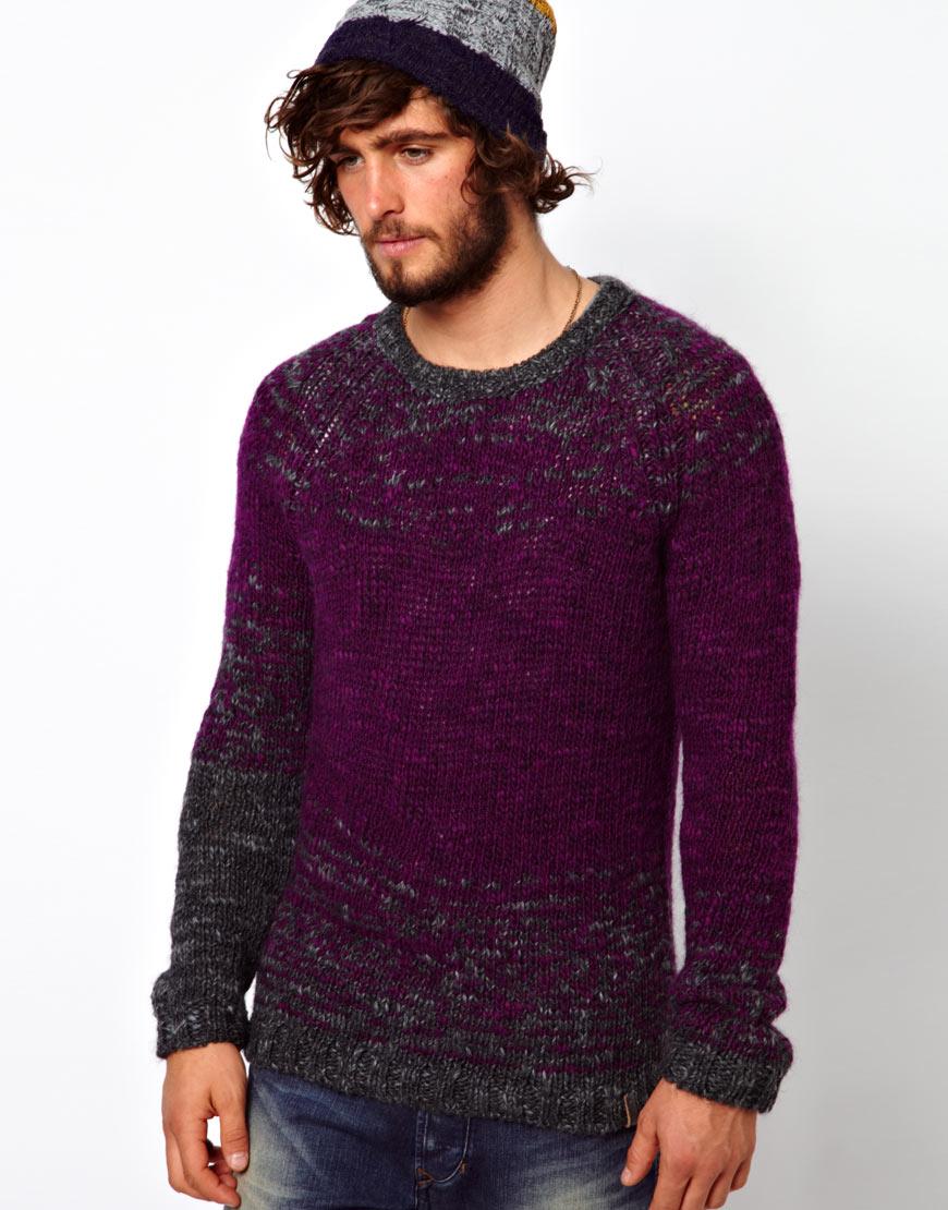 lyst g star raw diesel sweater crew knit kcolamba in. Black Bedroom Furniture Sets. Home Design Ideas