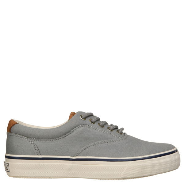 Sperry Top-Sider Mens Striper Cvo Waxed Canvas Shoes in Grey (Grey) for Men
