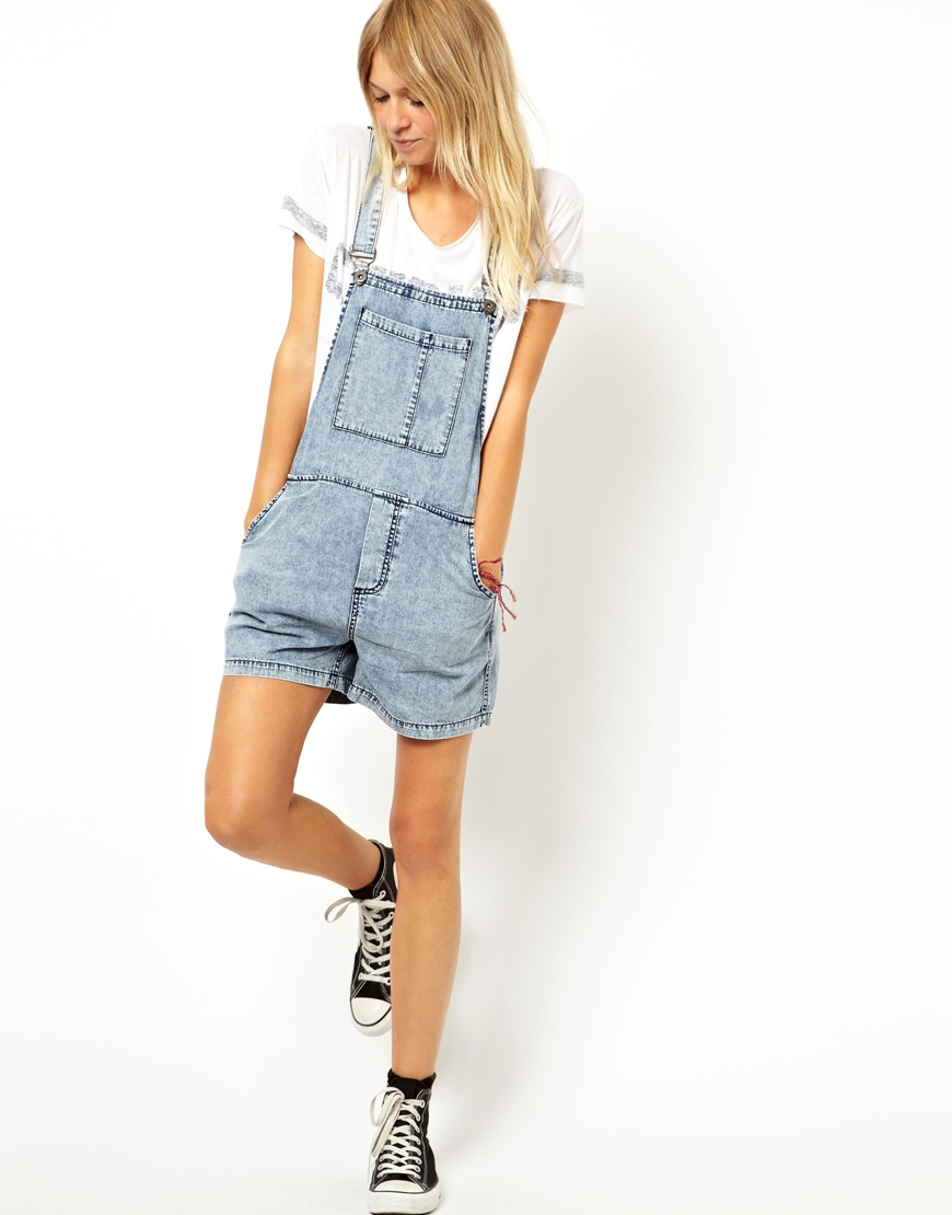 USKEES Short Denim Dungaree Dress - Vintage Wash Bib Overall Pinafore Bib-Skirts. by USKEES. $ - $ $ 22 $ 25 00 Prime. FREE Shipping on eligible orders. Some sizes are Prime eligible. Women Overalls and Jumpers Elastic Waist Dungarees Linen Cotton Pockets Rompers Jumpsuit Denim Shorts .
