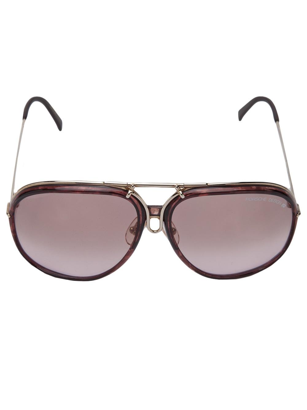 Carrera C80 Porsche Design Sunglasses In Silver For Men
