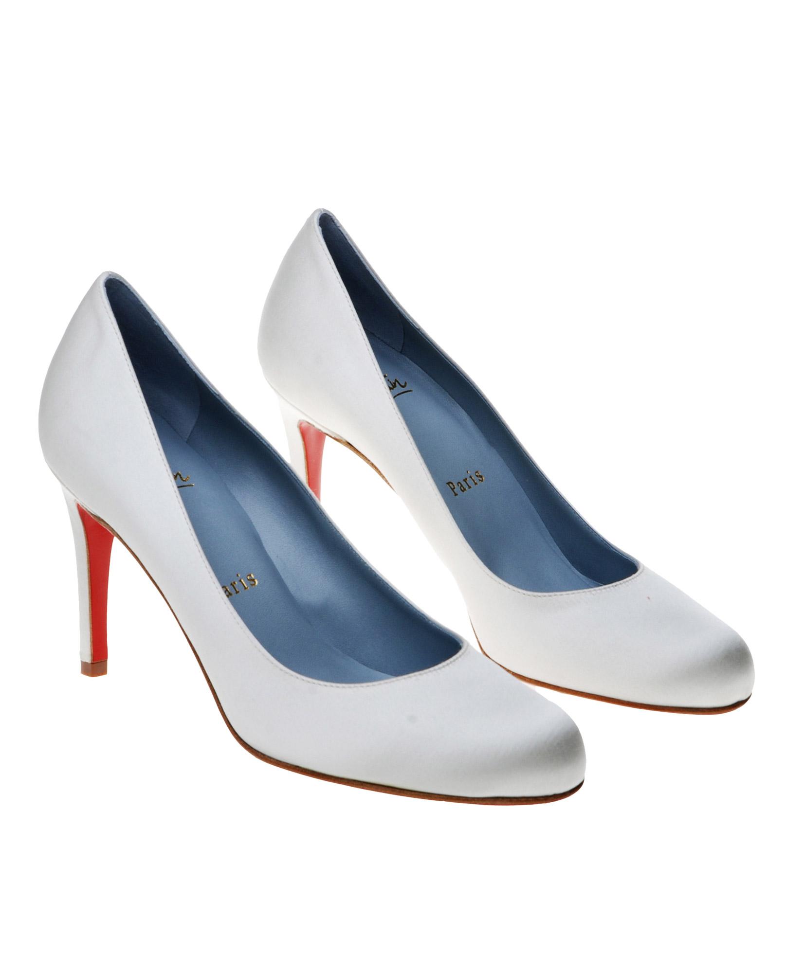 7eeab30b35e Christian Louboutin White The Simple Pump Bridal Shoe