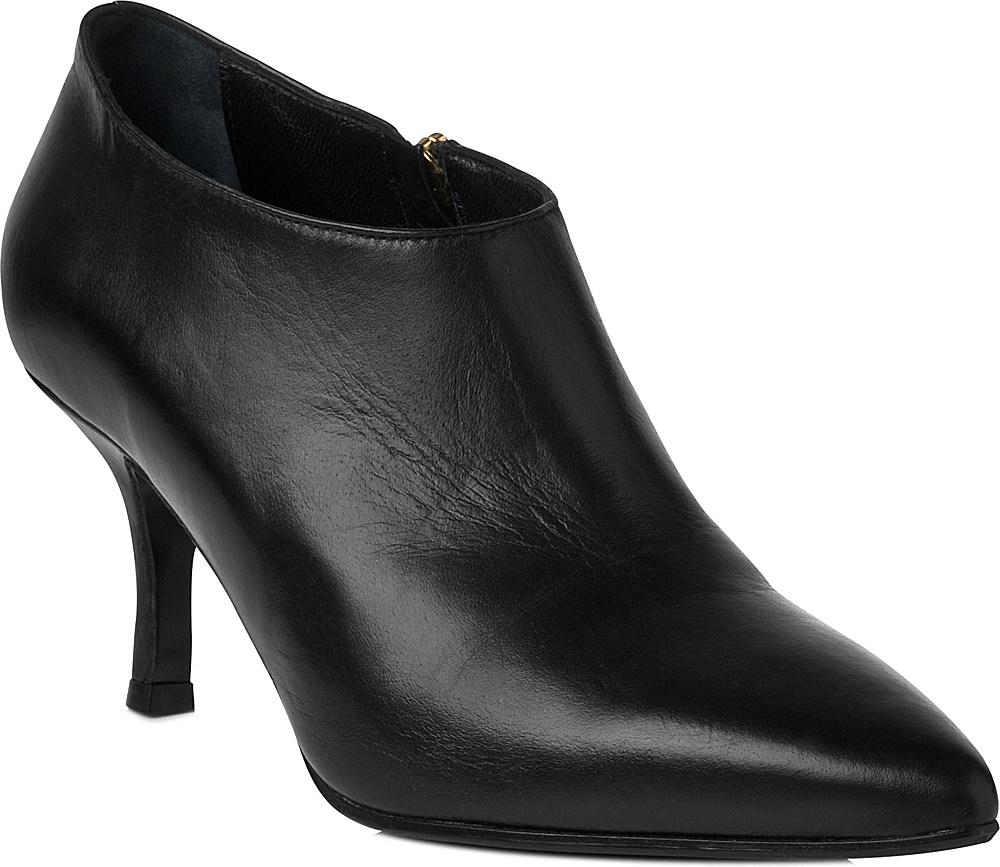 a1569ca9a79 L.K.Bennett Black Bianca Leather Shoe Boots