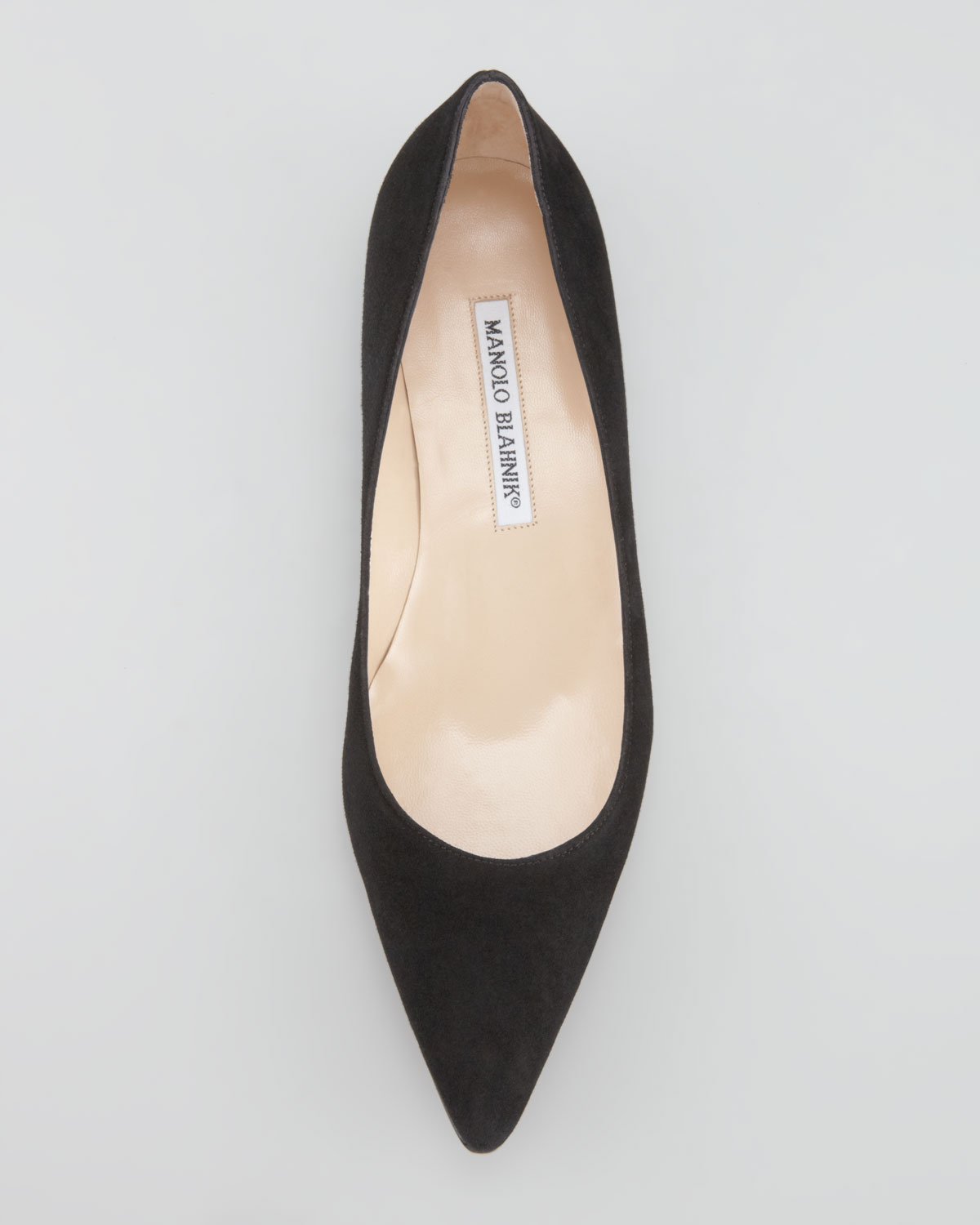 discount shop for sale new arrival Manolo Blahnik Patent Leather Pointed-Toe Flats cheap get to buy cheap price shop for c4mi1mJetG