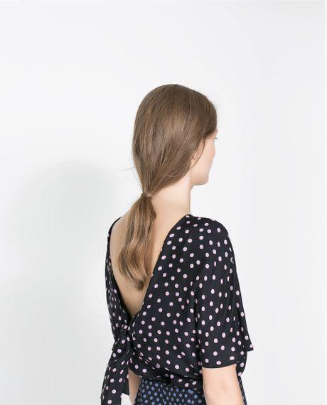 Zara Backless Blouse 89