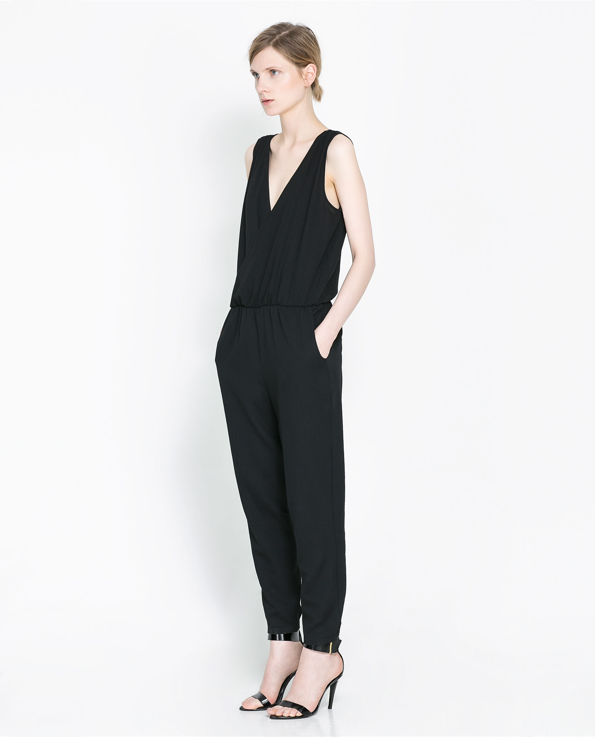Elegant Zara Jumpsuits  Green Sandals