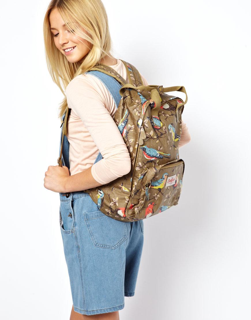 Lyst Cath Kidston Garden Bird Backpack