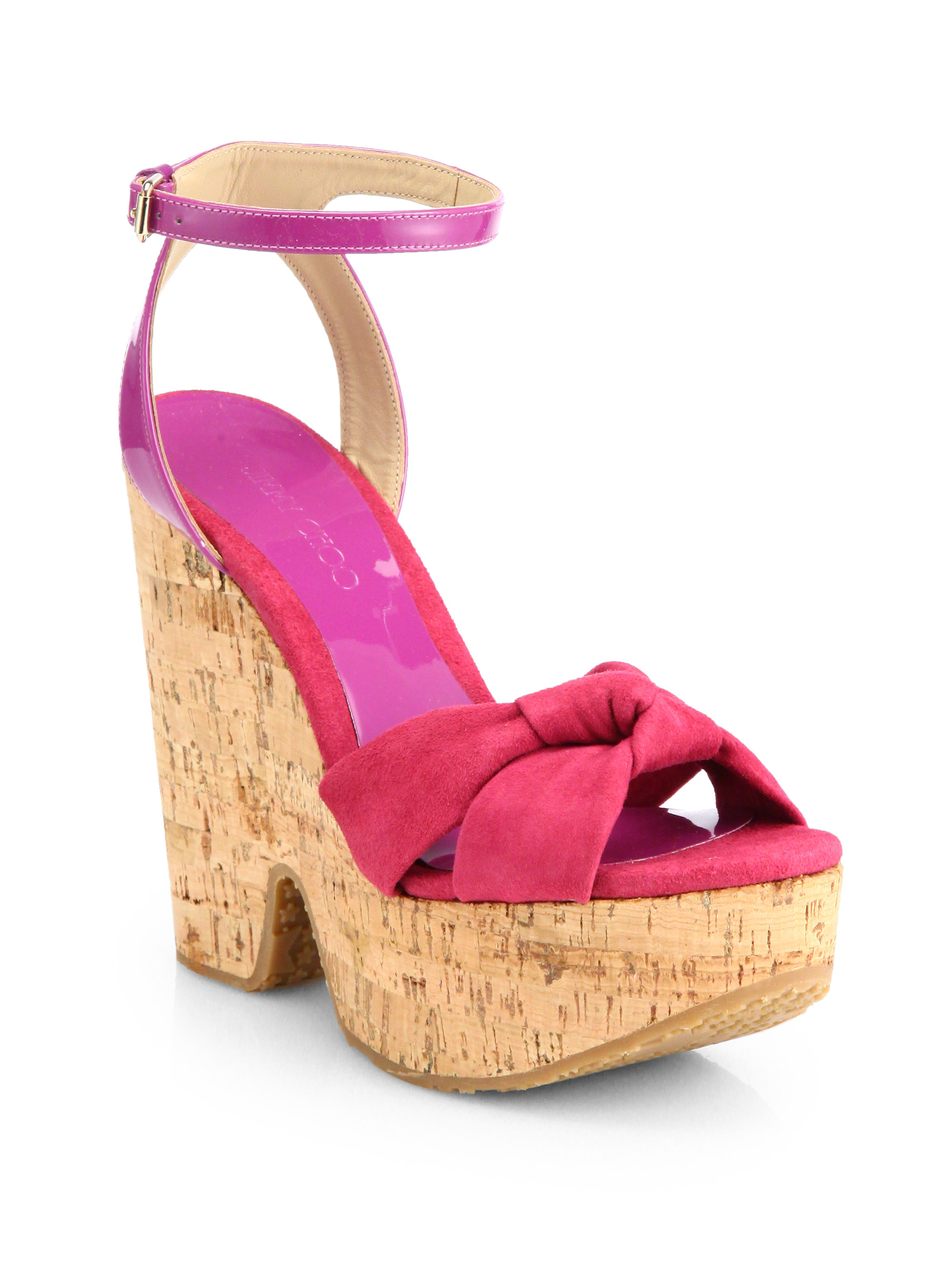 Pink Leather Shoes Made In Spain