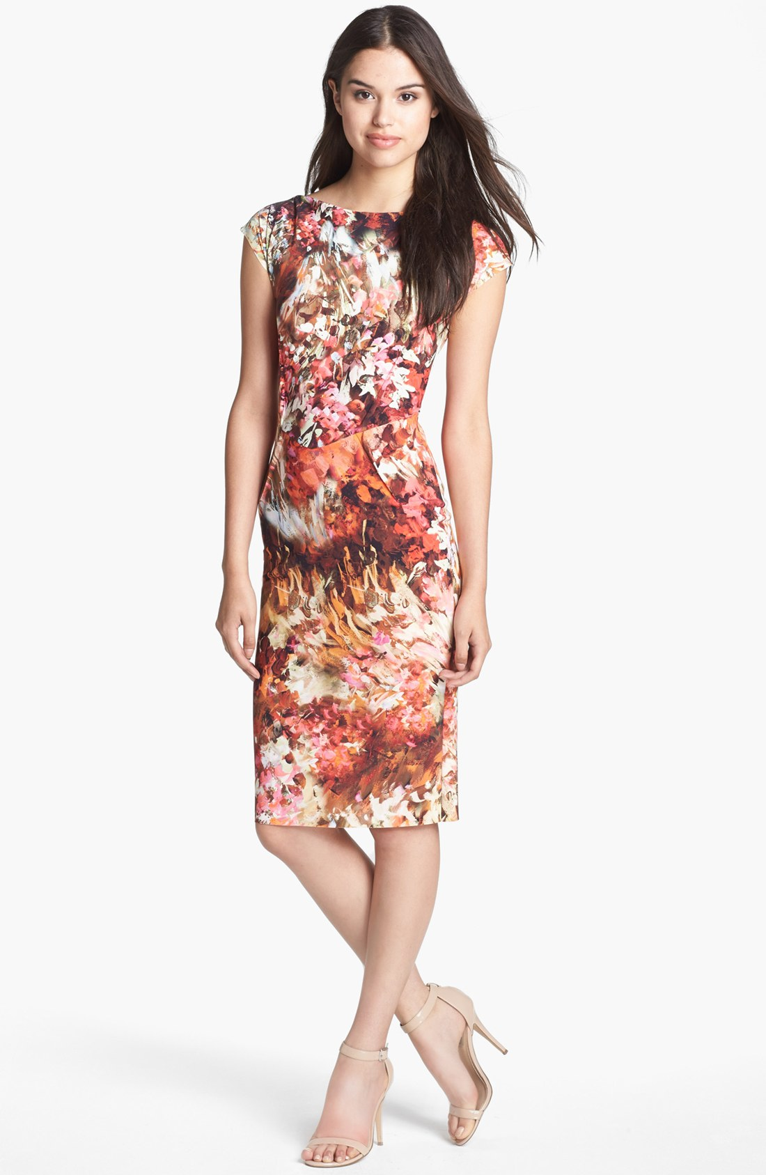 Chiara Boni The Most Popular Dress In America: La Petite Robe Di Chiara Boni Print Jersey Sheath Dress In