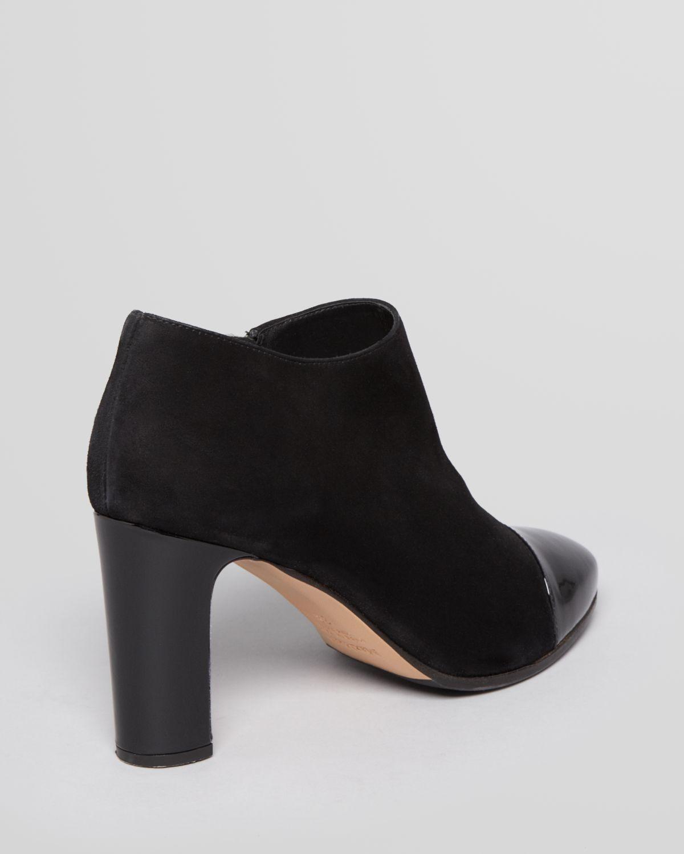 MaxMara Suede Cap-Toe Booties cheap sale lowest price sneakernews sale online btlZT