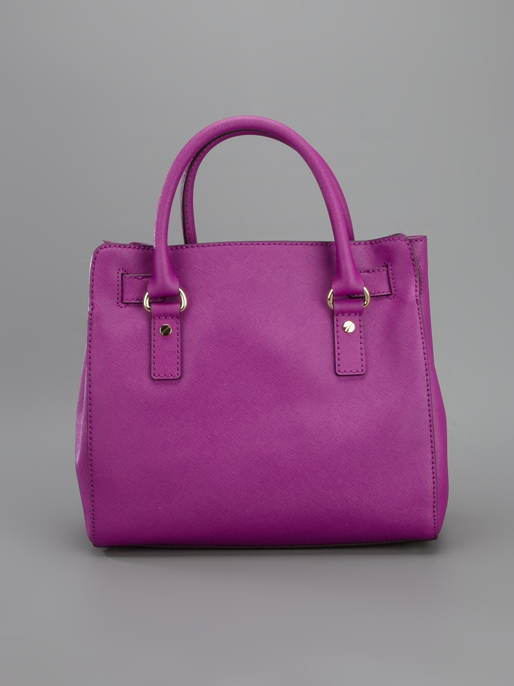 MICHAEL Michael Kors Hamilton Tote in Pink & Purple (Purple)