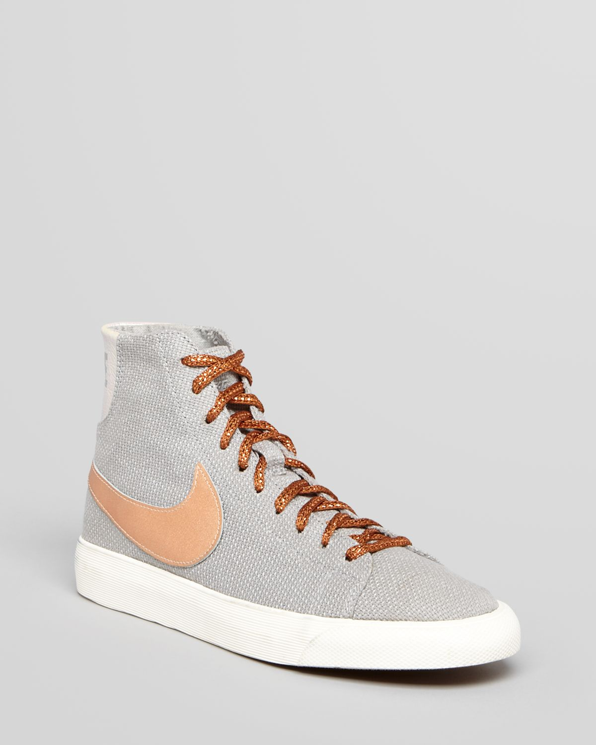 Nike Lace Up High Top Sneakers Womens