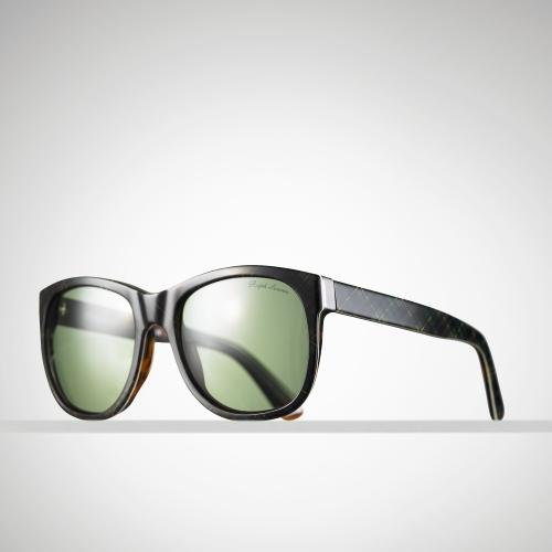Ralph Lauren Ricky Sunglasses  ralph lauren ricky tartan sunglasses in green lyst