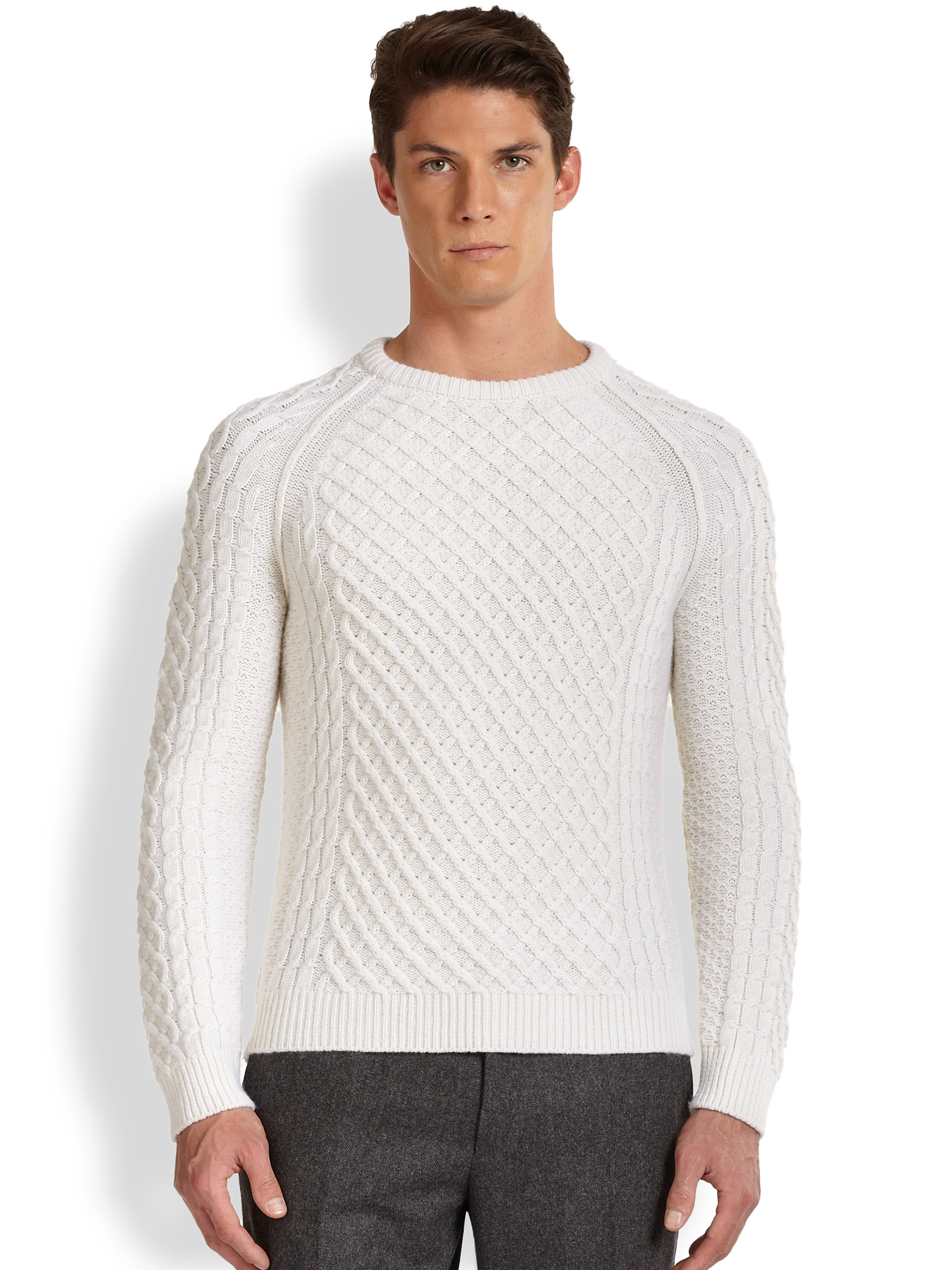 Mens Cashmere Cardigan Sweater