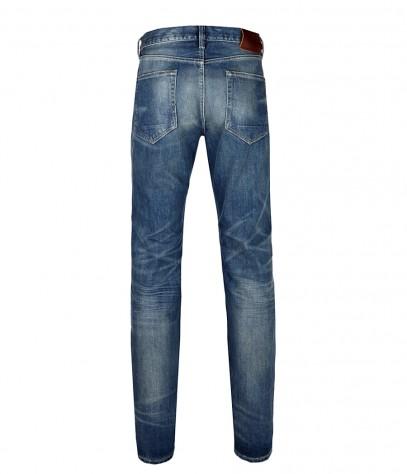 AllSaints Firn Iggy Jeans in Indigo (Blue) for Men