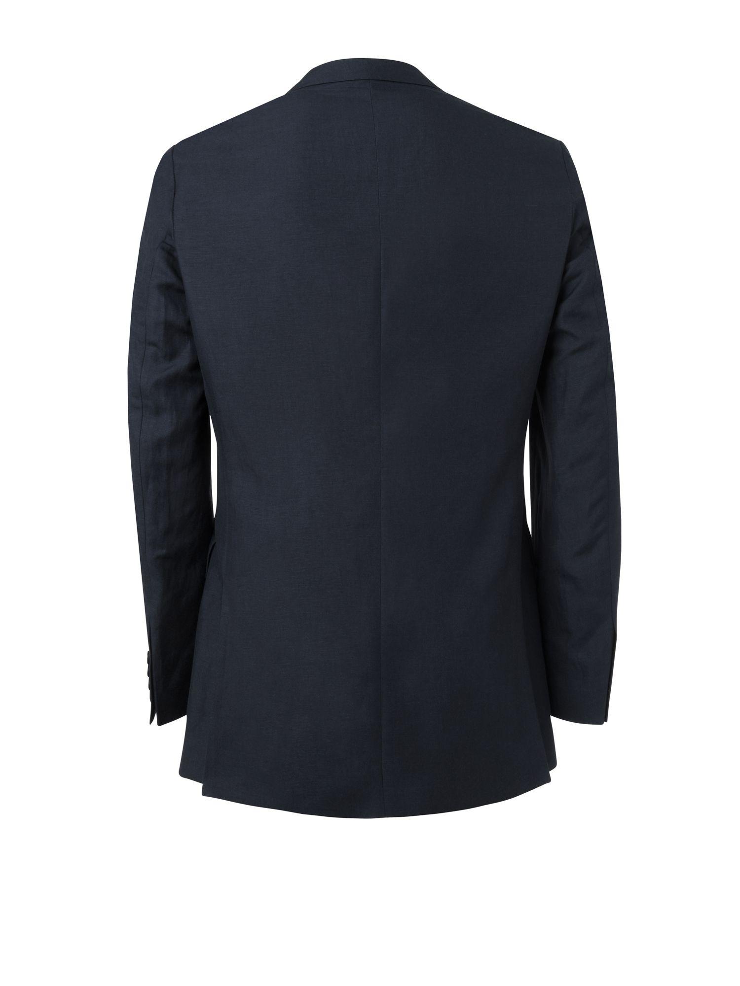Jaeger Silk Linen Jacket in Navy (Green) for Men
