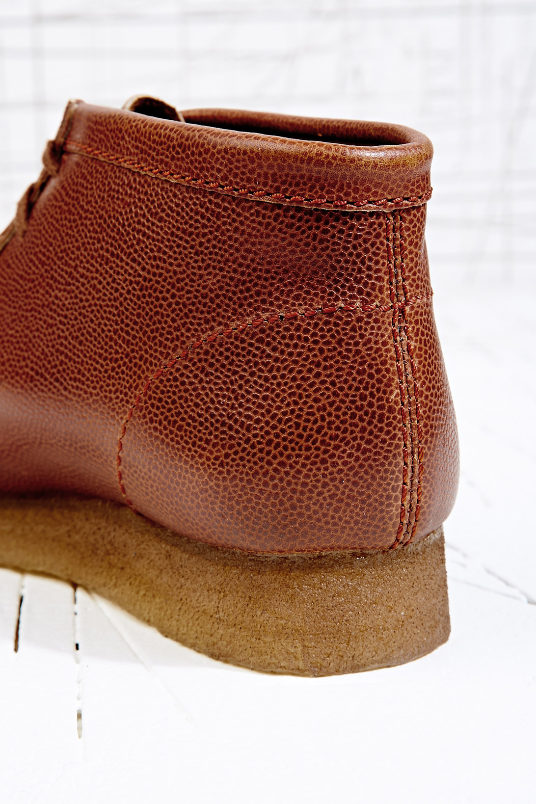 Clarks Wallabee Horween Leather Shoes in Tan (Brown) for Men