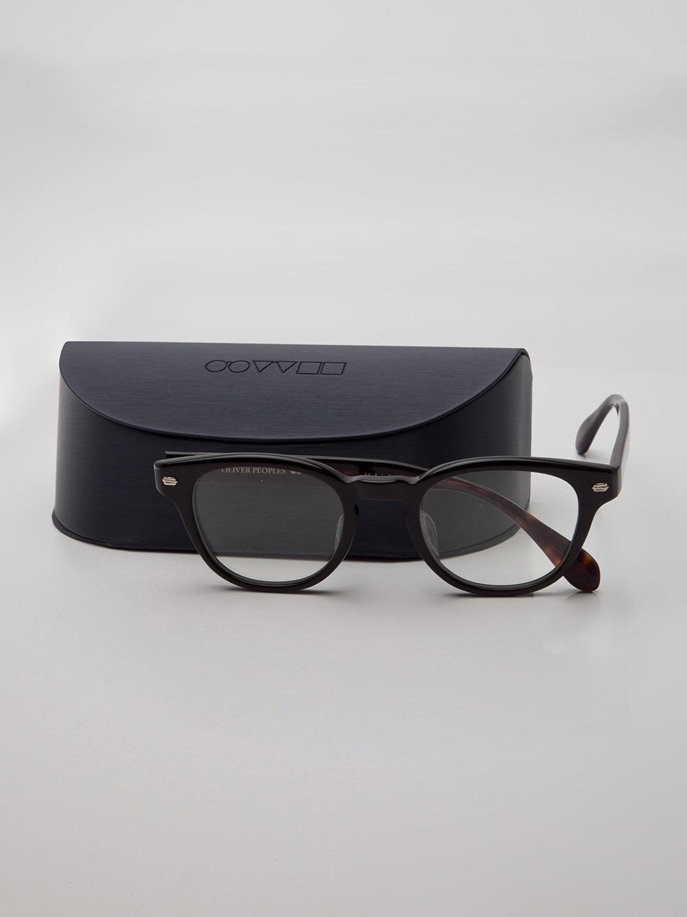 Oliver peoples tokyo glasses in black lyst for Oliver peoples tokyo