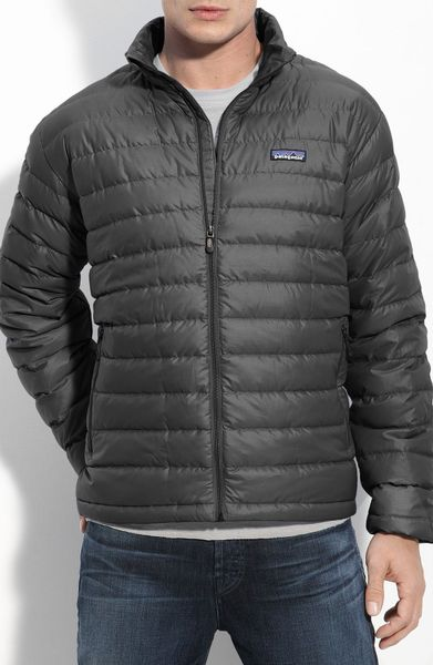 Patagonia Down Sweater Jacket In Gray For Men Forge Grey