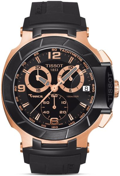 Chronograph Rubber Watch 50Mm In Black For Men No Color Lyst